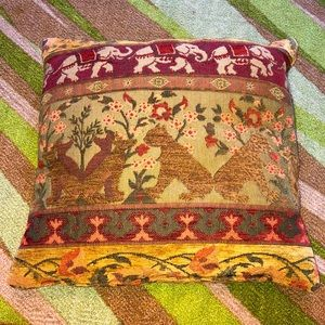 VTG bohemian boho accent pillow